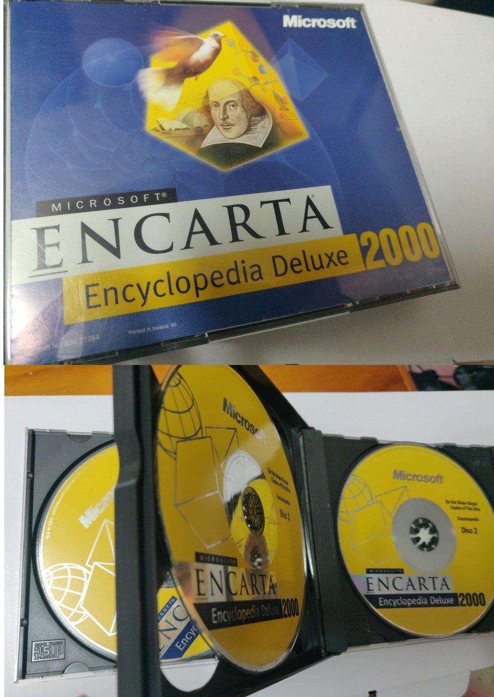 a minha cópia da Microsoft Encarta Encyclopedia Deluxe 2000